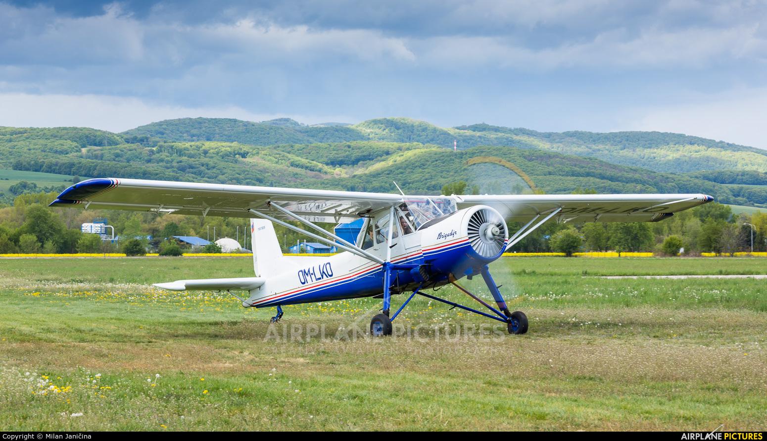 Aeroklub Dubnica nad Vahom OM-LKO aircraft at Trenčín