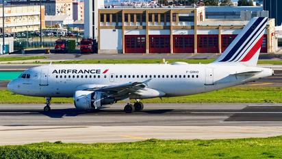 F-GRHO - Air France Airbus A319
