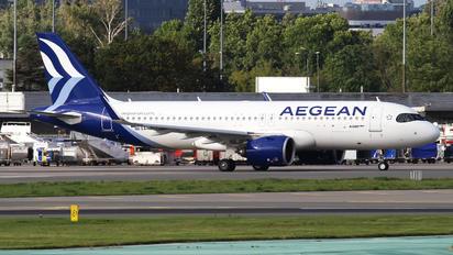 SX-NEC - Aegean Airlines Airbus A320 NEO