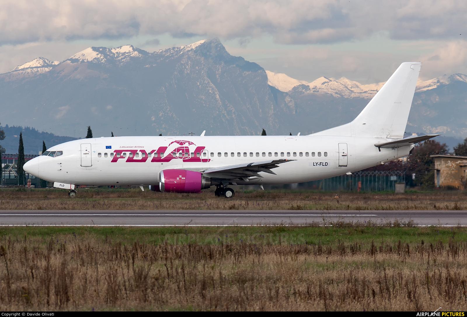 Fly All Ways LY-FLD aircraft at Verona - Villafranca