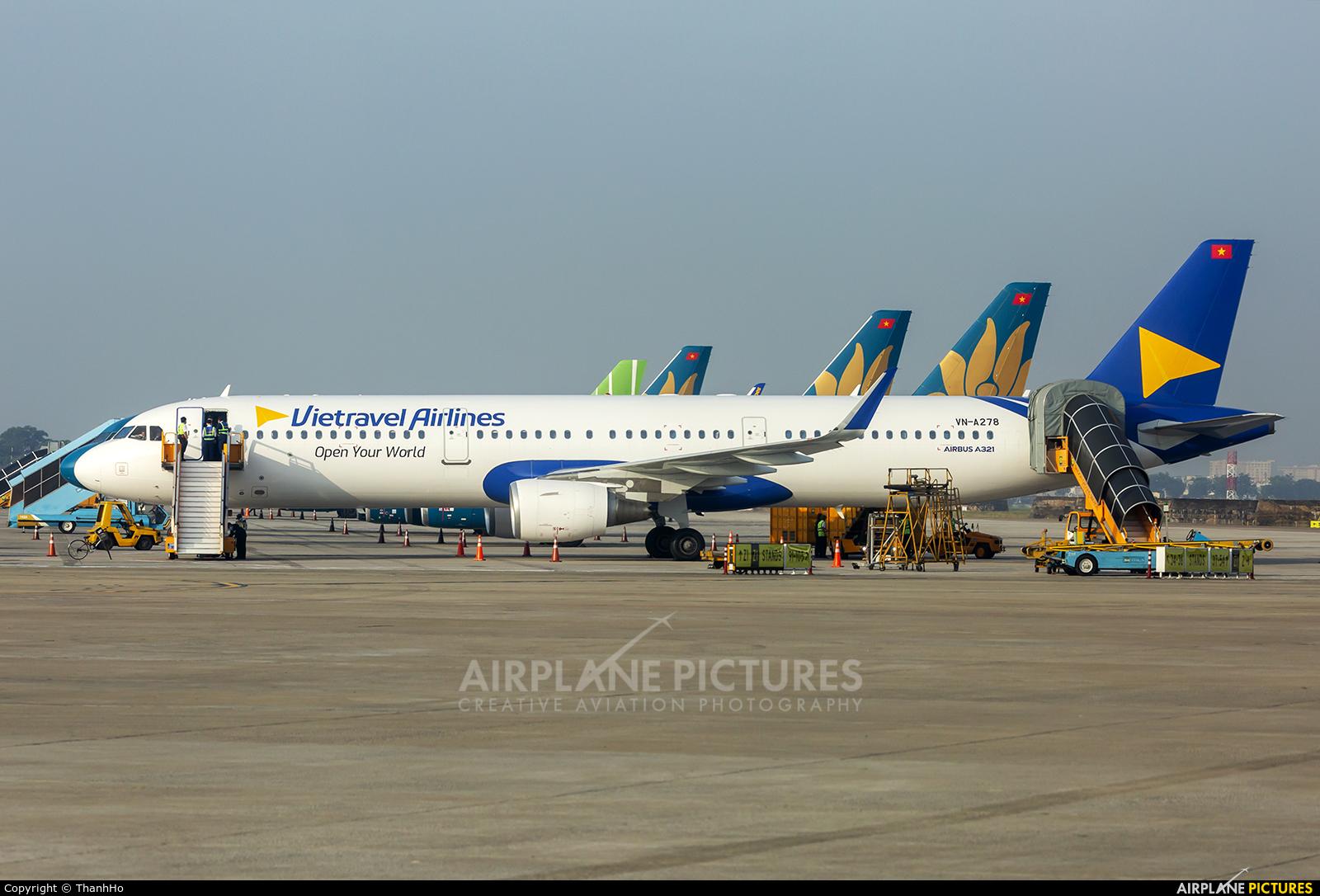 Vietravel Airlines VN-A278 aircraft at Ho Chi Minh City - Tan Son Nhat Intl