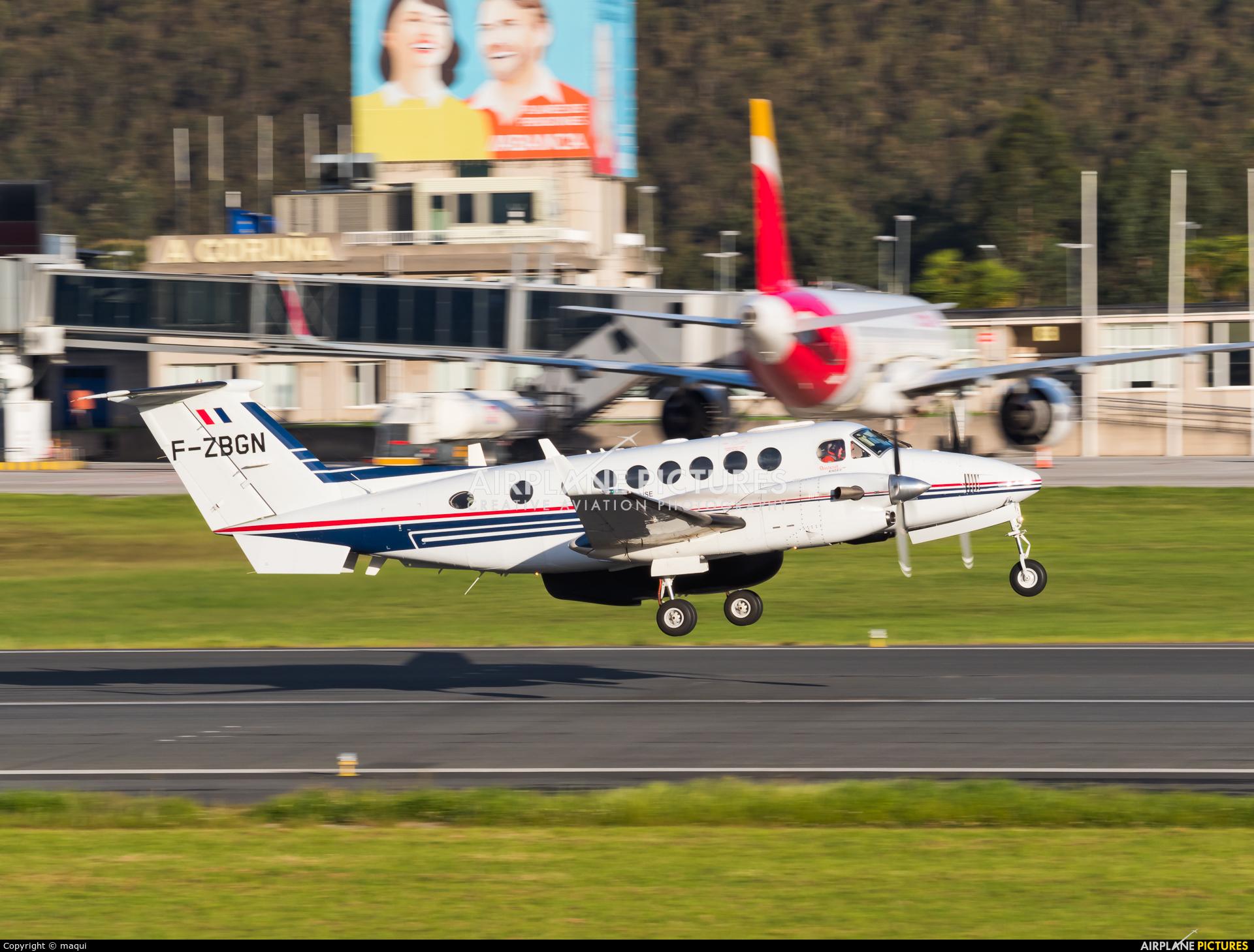 France - Customs F-ZBGN aircraft at La Coruña