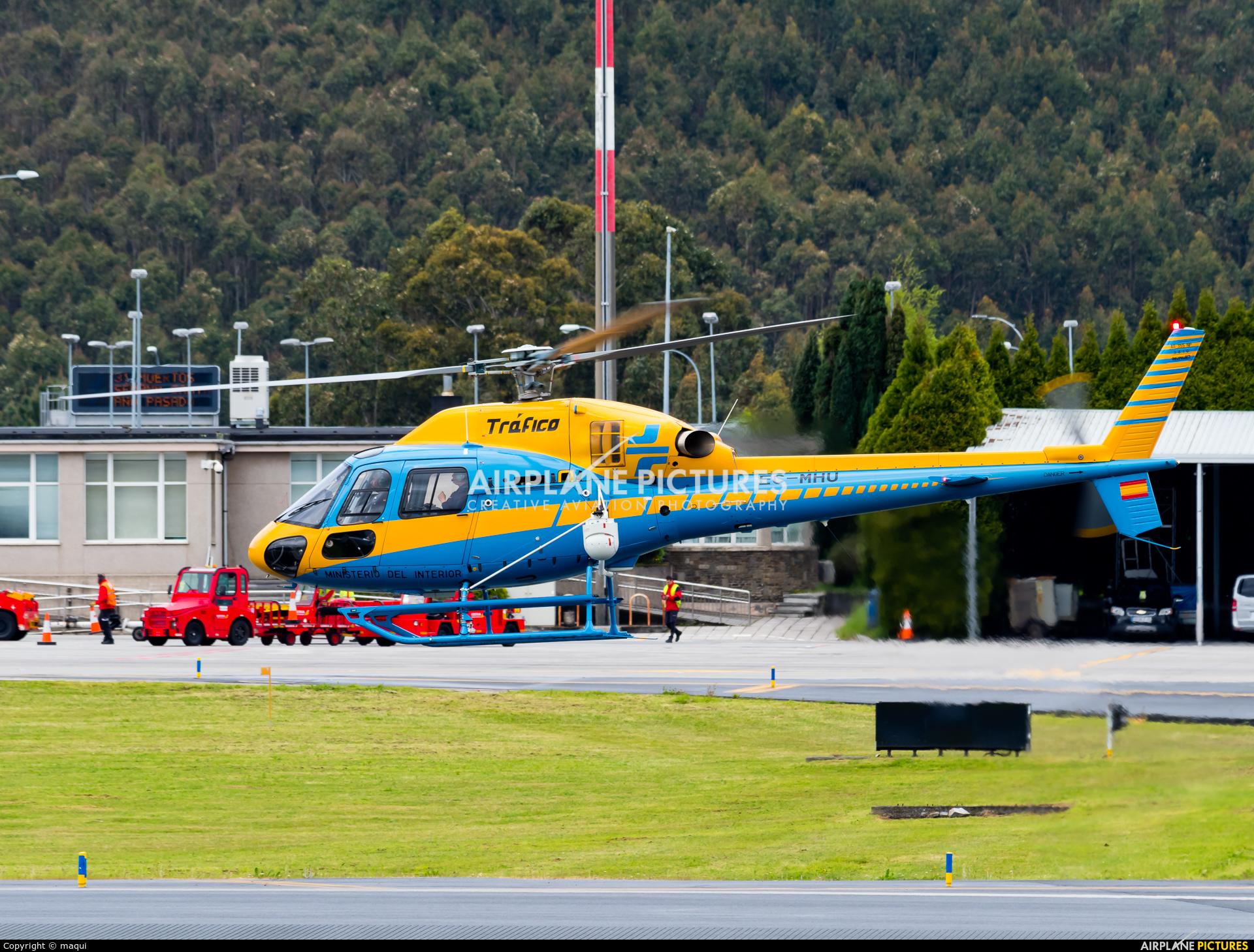 Spain - Government EC-MHU aircraft at La Coruña
