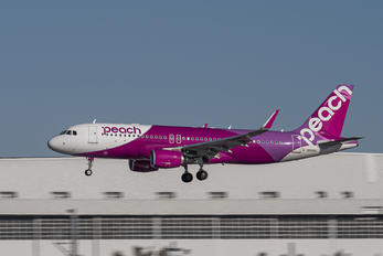 JA14VA - Peach Aviation Airbus A320