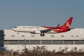B-1712 - Shenzhen Airlines Boeing 737-800