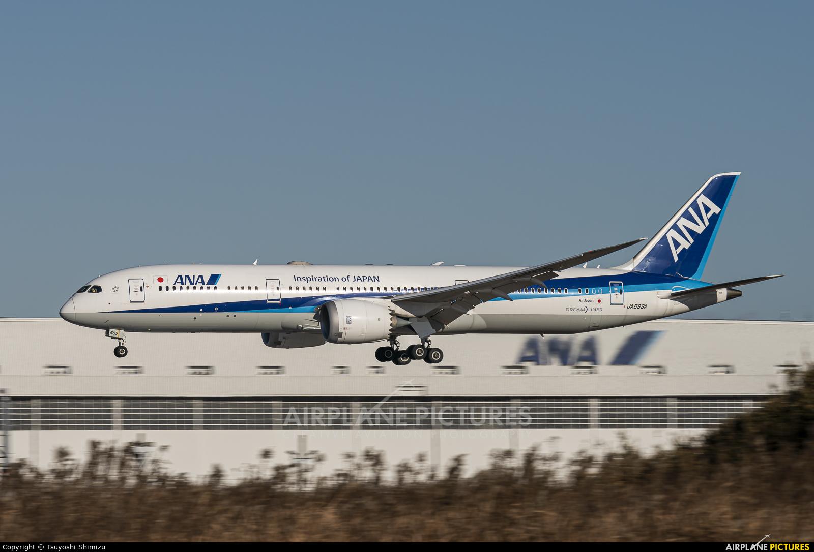 ANA - All Nippon Airways JA893A aircraft at Tokyo - Narita Intl