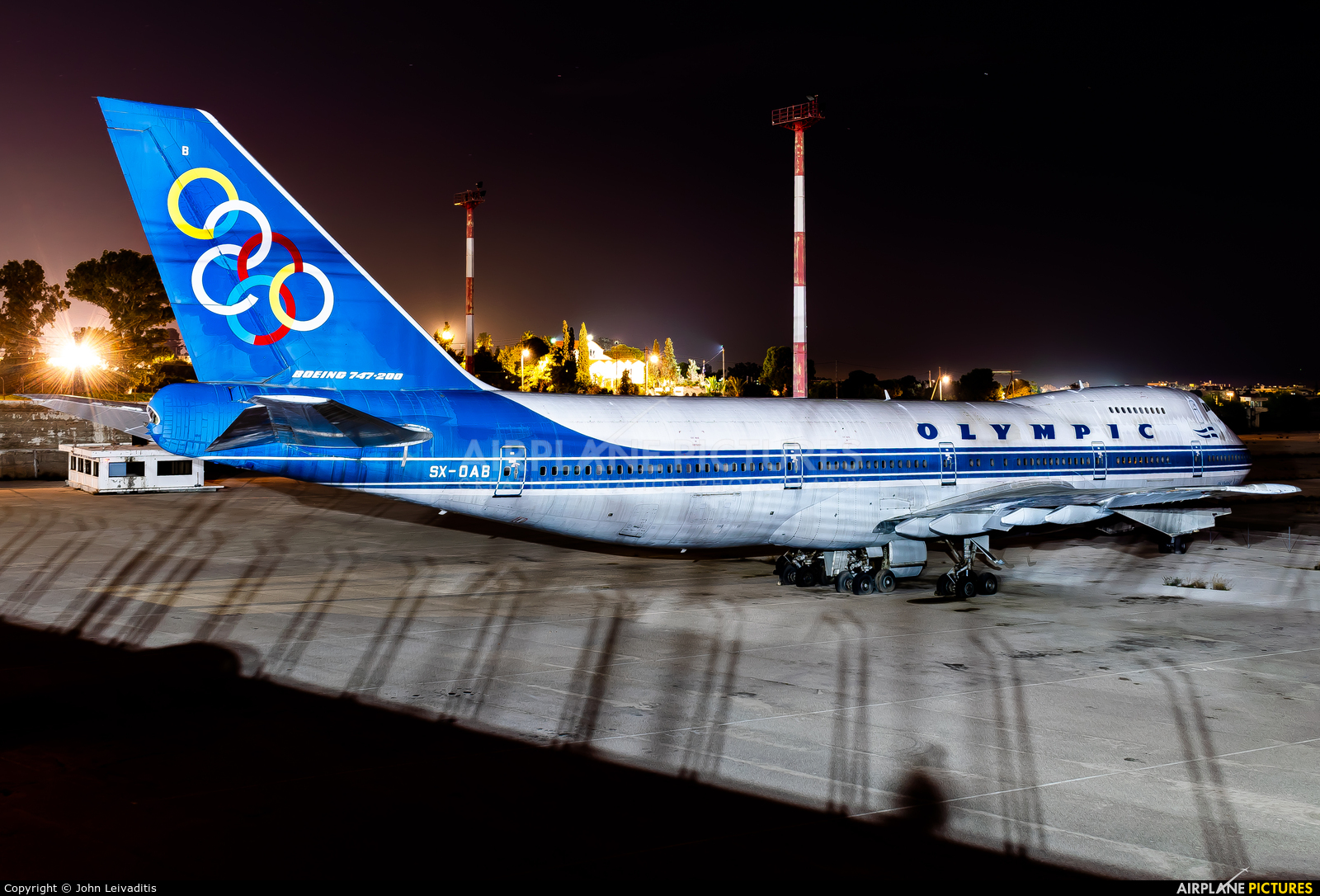 Olympic Airlines SX-OAB aircraft at Athens - Hellinikon