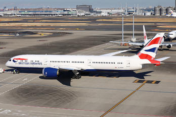 G-ZBKR - British Airways Boeing 787-9 Dreamliner