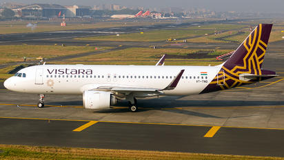 VT-TNQ - Vistara Airbus A320 NEO