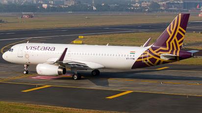 VT-TTM - Vistara Airbus A320