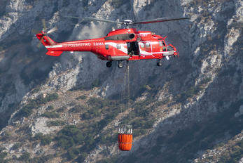 SX-HFF - Greece - Fire Fighting Service Aerospatiale AS332 Super Puma L (and later models)