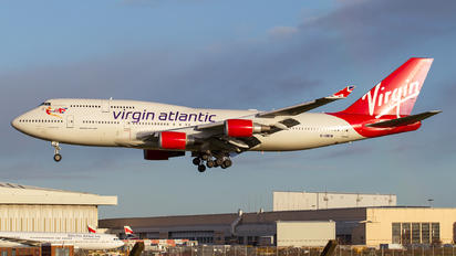 G-VWOW - Virgin Atlantic Boeing 747-400
