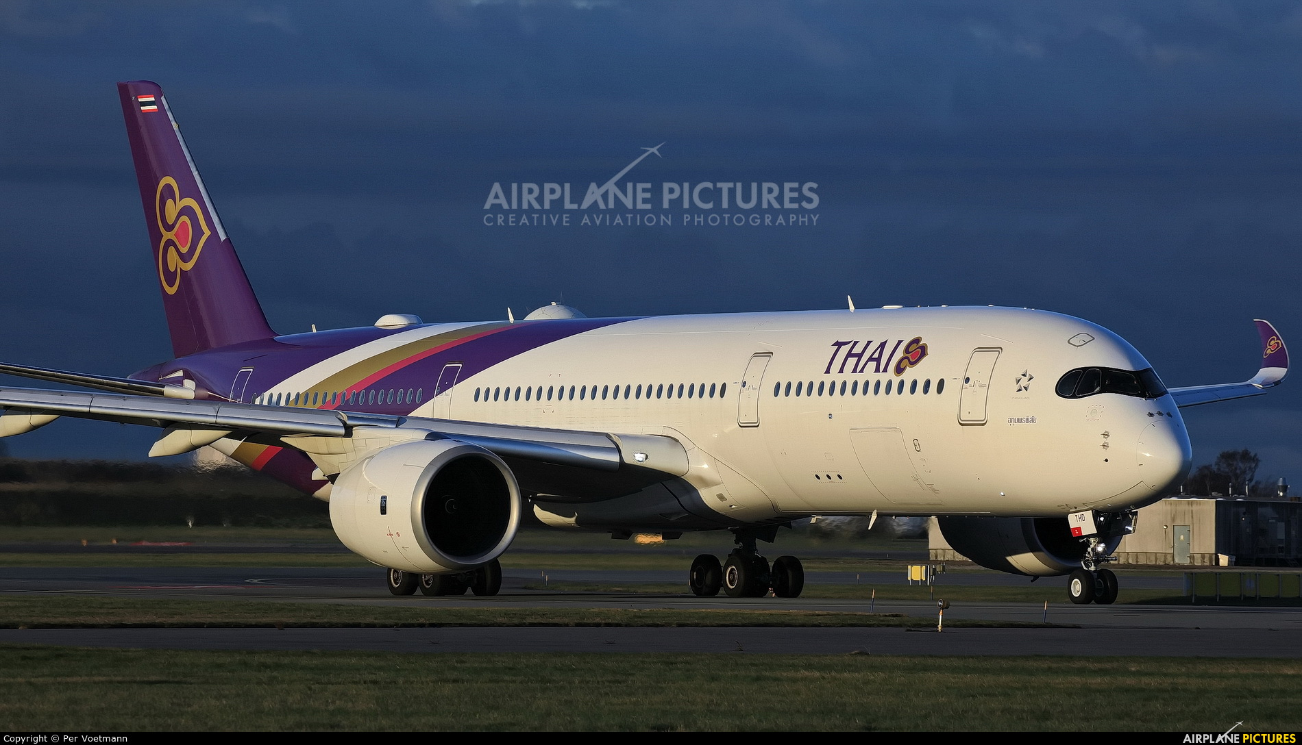 Thai Airways HS-THD aircraft at Copenhagen Kastrup