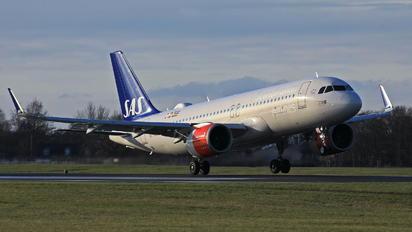 SE-DOZ - SAS - Scandinavian Airlines Airbus A320 NEO