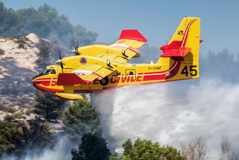 F-ZBMG - France - Sécurité Civile Canadair CL-415 (all marks)