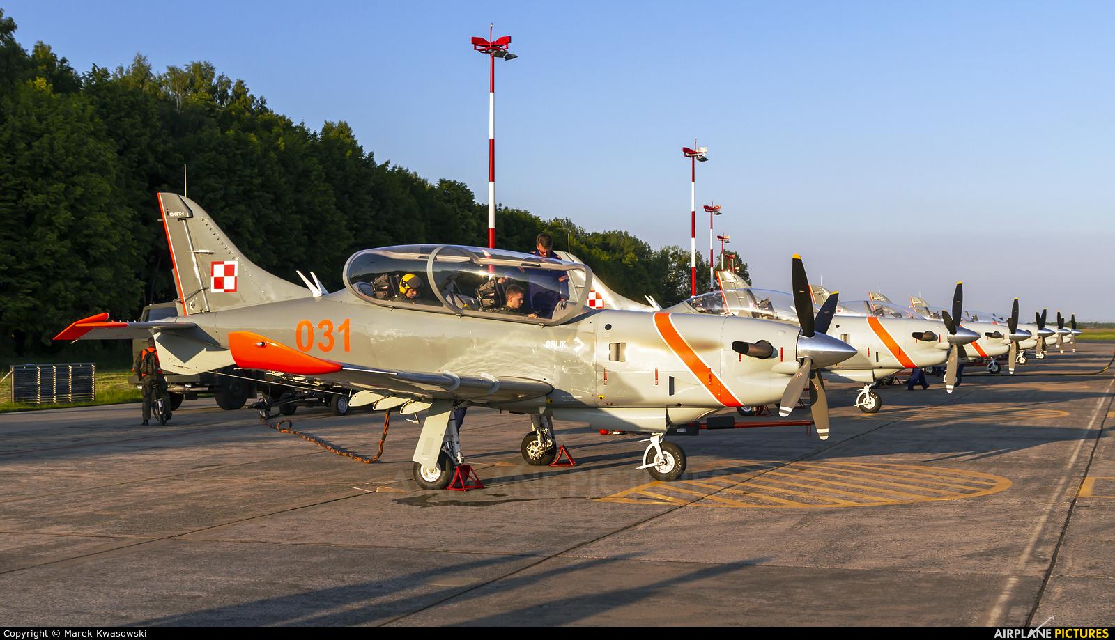 "Poland - Air Force ""Orlik Acrobatic Group"" 031 aircraft at Radom - Sadków"