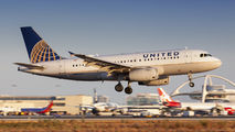 N802UA - United Airlines Airbus A319 aircraft