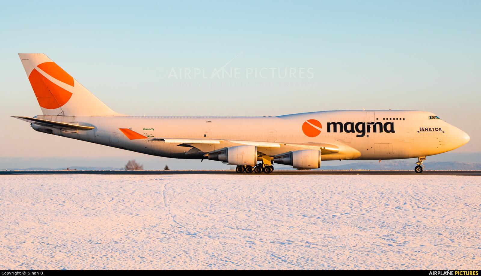 Magma Aviation TF-AMN aircraft at Frankfurt - Hahn