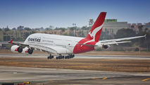 VH-OQD - QANTAS Airbus A380 aircraft