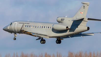 607 - Hungary - Air Force Dassault Falcon 7X