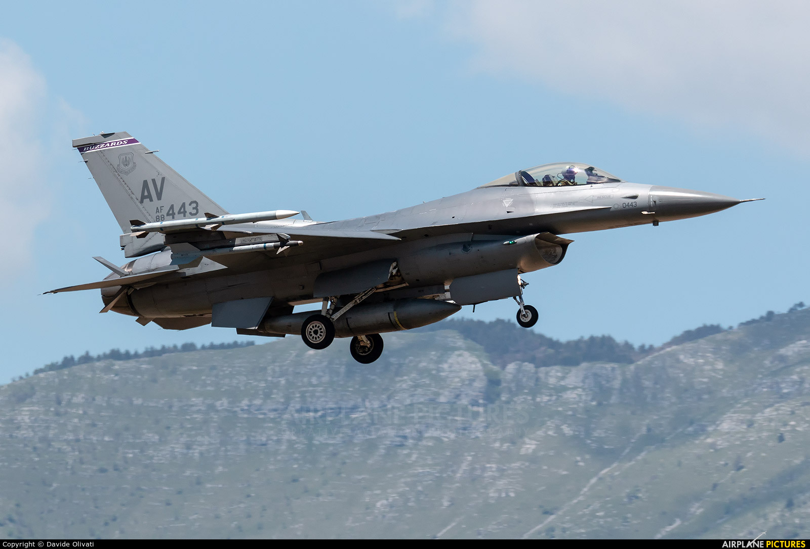 USA - Air Force 88-0443 aircraft at Aviano