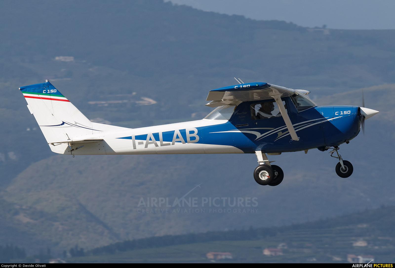 Private I-ALAB aircraft at Verona - Boscomantico