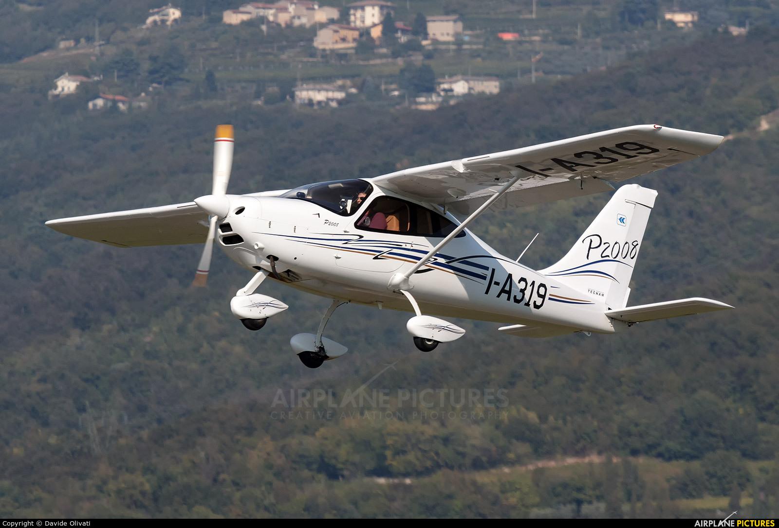 Private I-A319 aircraft at Verona - Boscomantico