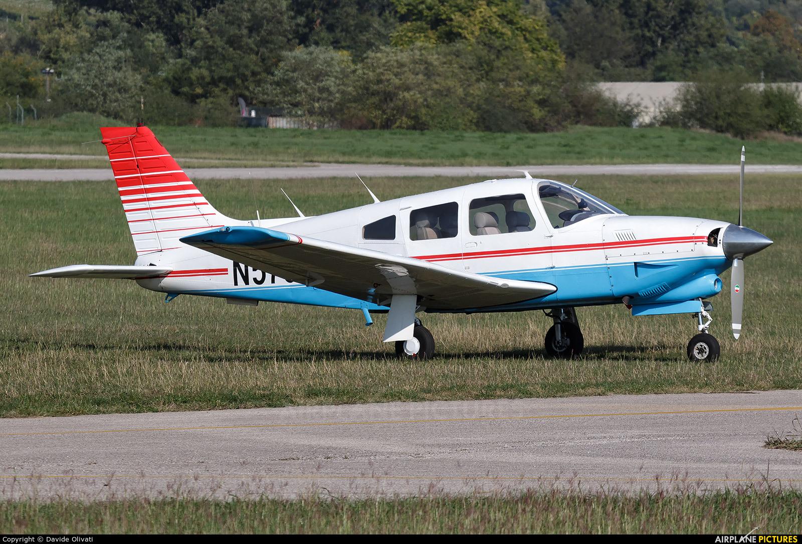 Private N579GZ aircraft at Verona - Boscomantico