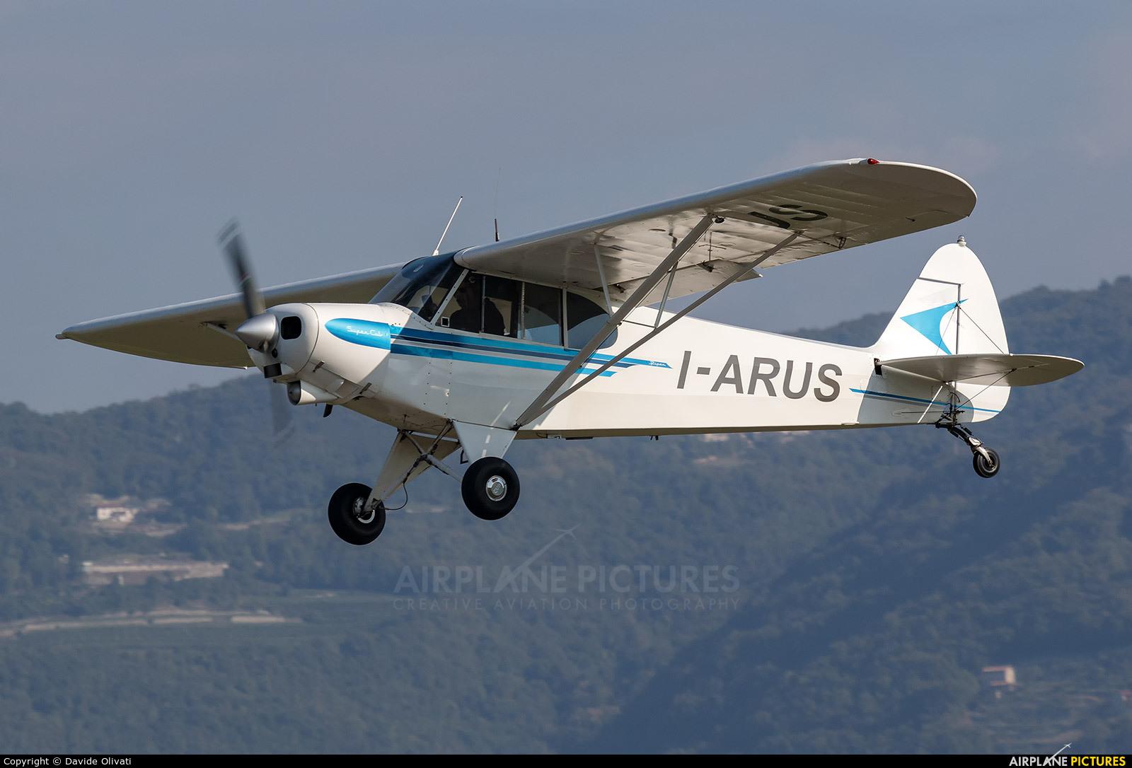 Private I-ARUS aircraft at Verona - Boscomantico