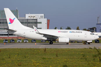 4L-MWC - MyWay Airlines Boeing 737-75C(BDSF)