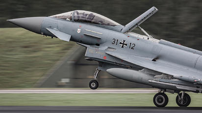31+12 - Germany - Air Force Eurofighter Typhoon S