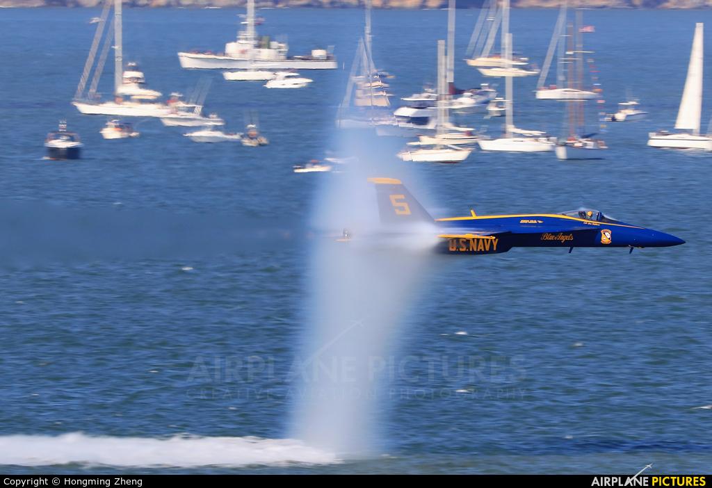 USA - Navy : Blue Angels 165540 aircraft at San Francisco - Off Airport