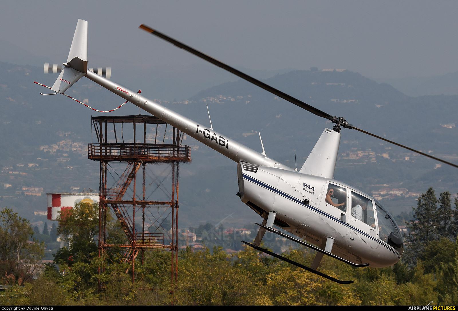 Private I-GABI aircraft at Verona - Boscomantico