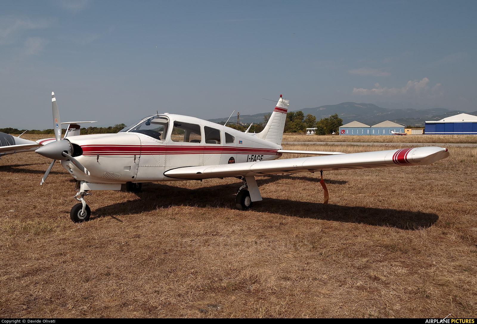 Private I-FAGE aircraft at Verona - Boscomantico