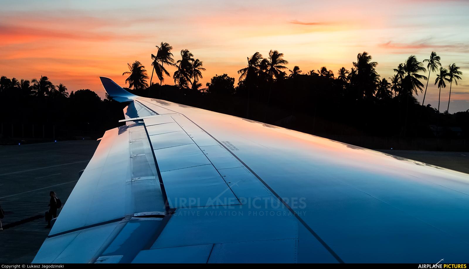 Hi Fly Malta CS-TKY aircraft at Zanzibar