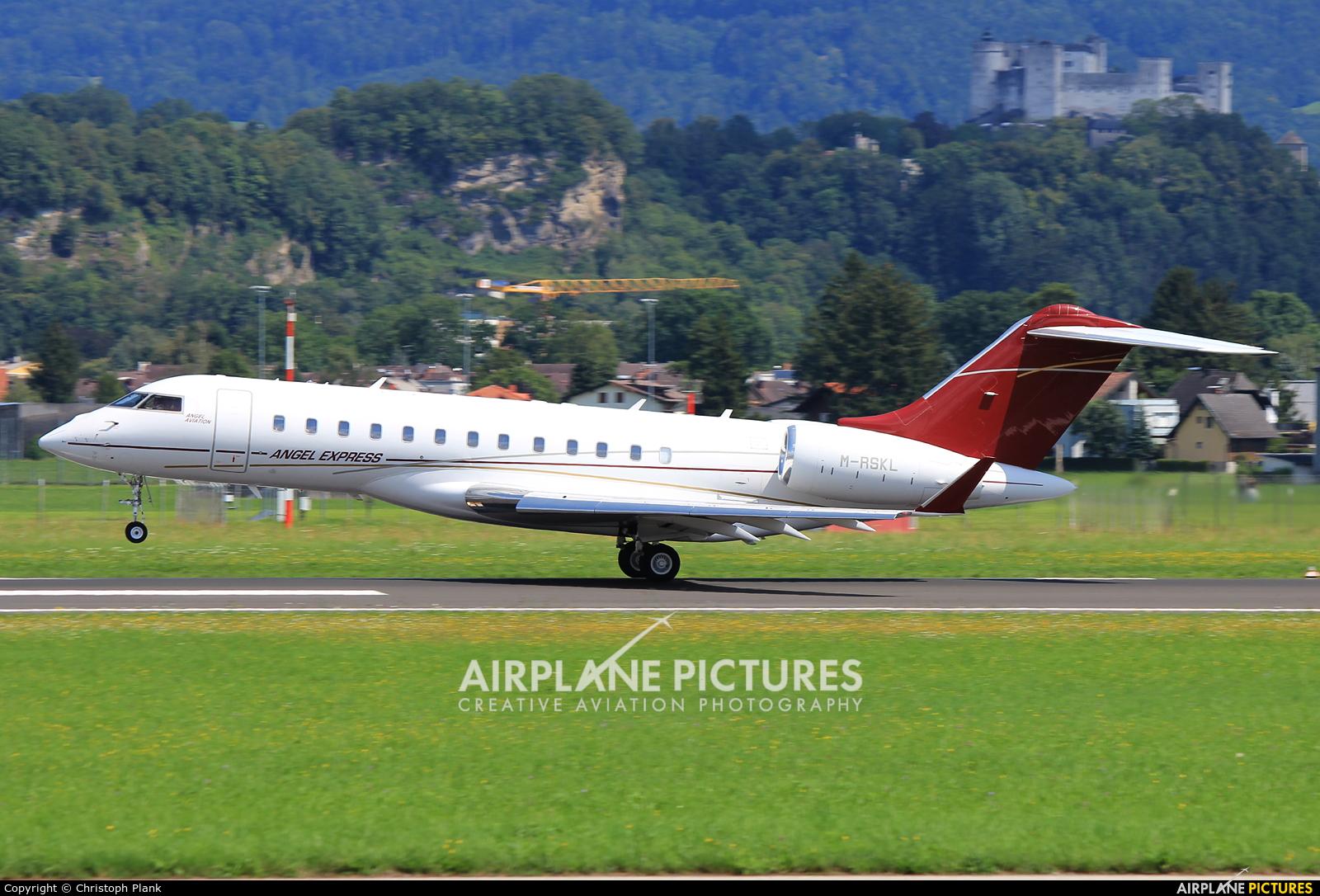 Private M-RSKL aircraft at Salzburg