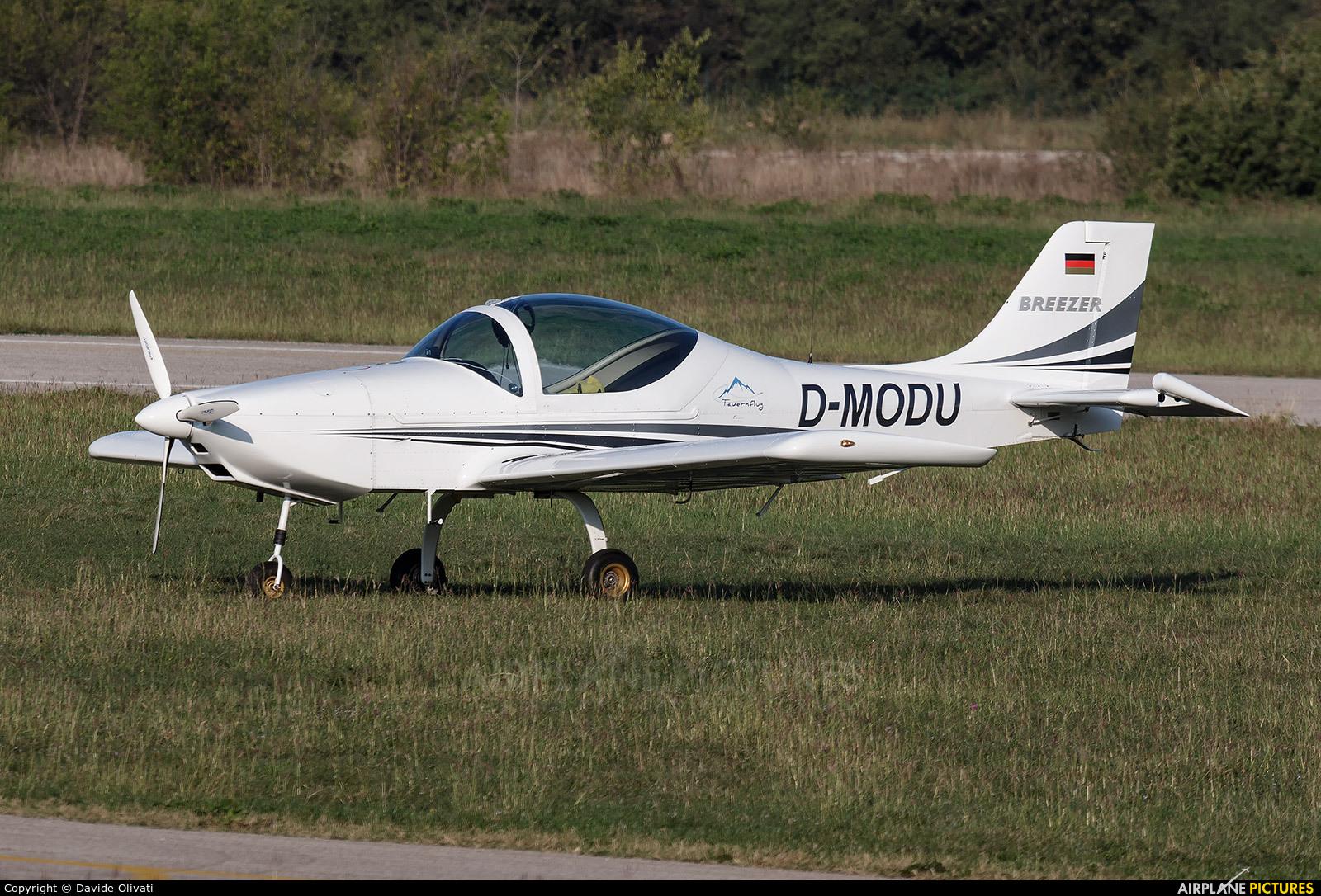 Private D-MODU aircraft at Verona - Boscomantico
