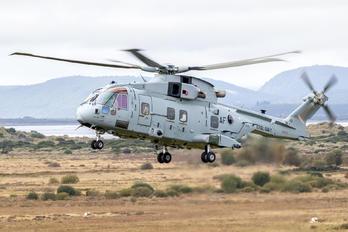 ZK001 - Royal Navy Agusta Westland AW101 Merlin Mk4A