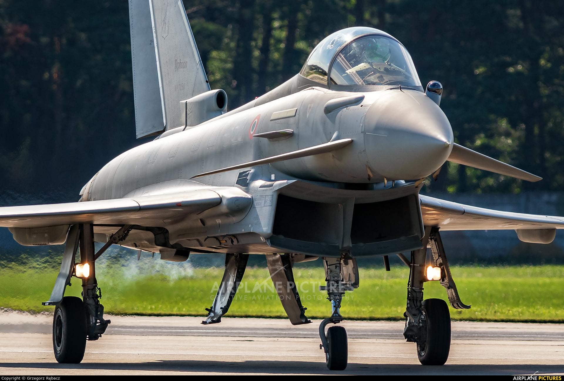 Italy - Air Force MM7350 aircraft at Malacky - Kuchyna