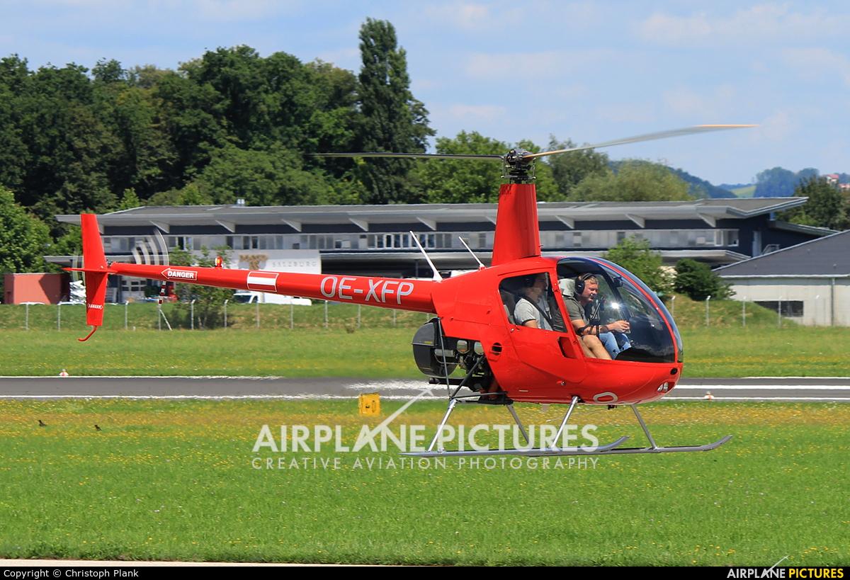 Heli Tirol OE-XFP aircraft at Salzburg