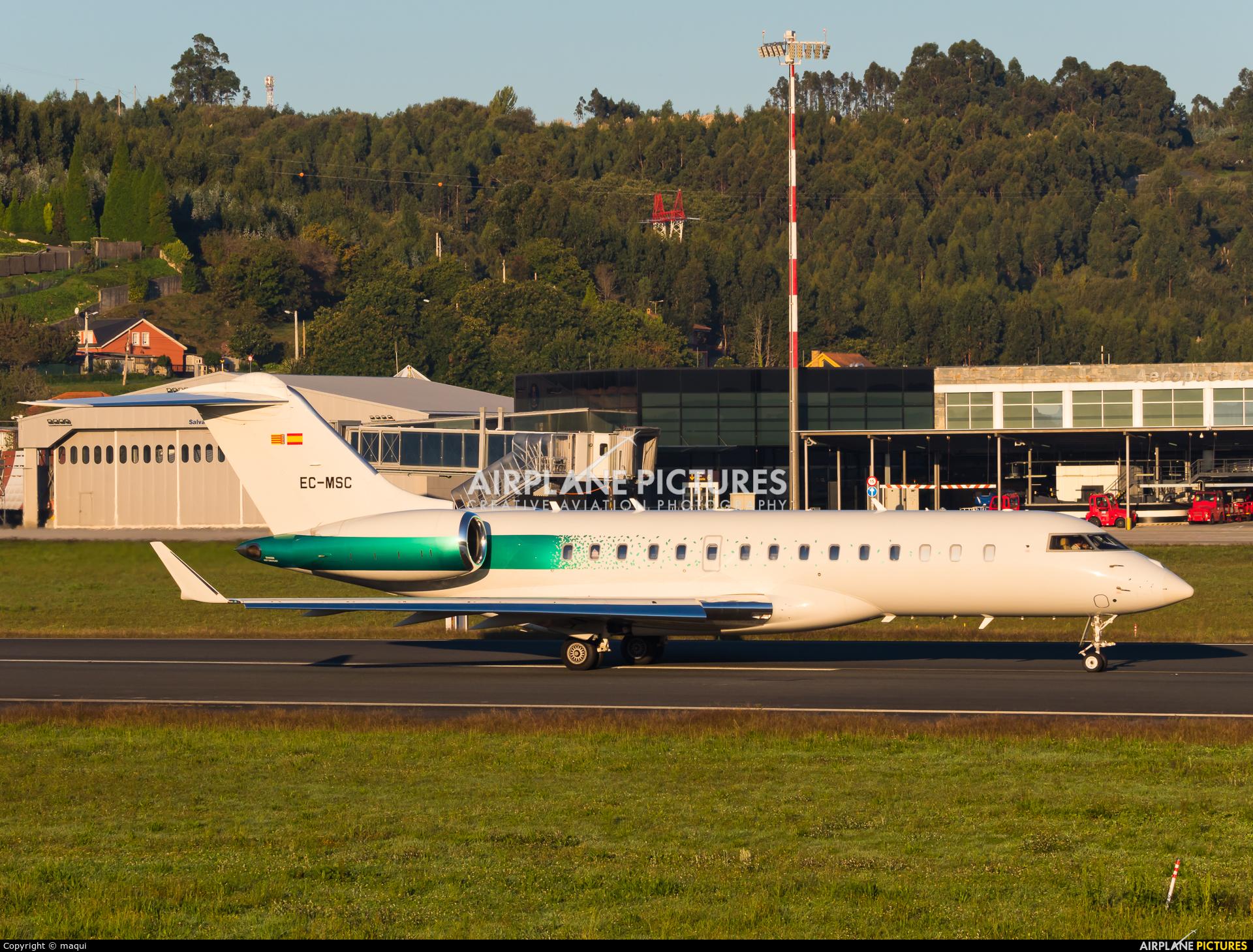 Private EC-MSC aircraft at La Coruña
