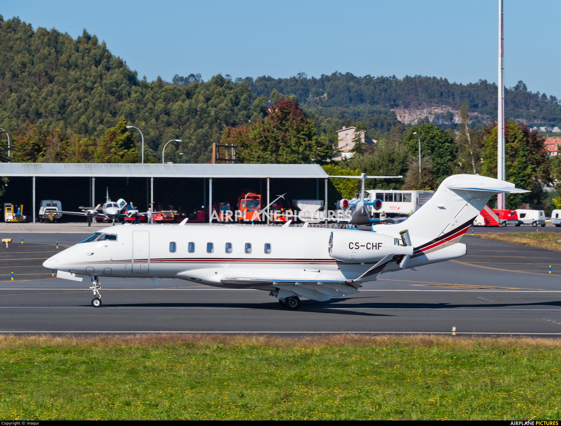 NetJets Europe (Portugal) CS-CHF aircraft at La Coruña