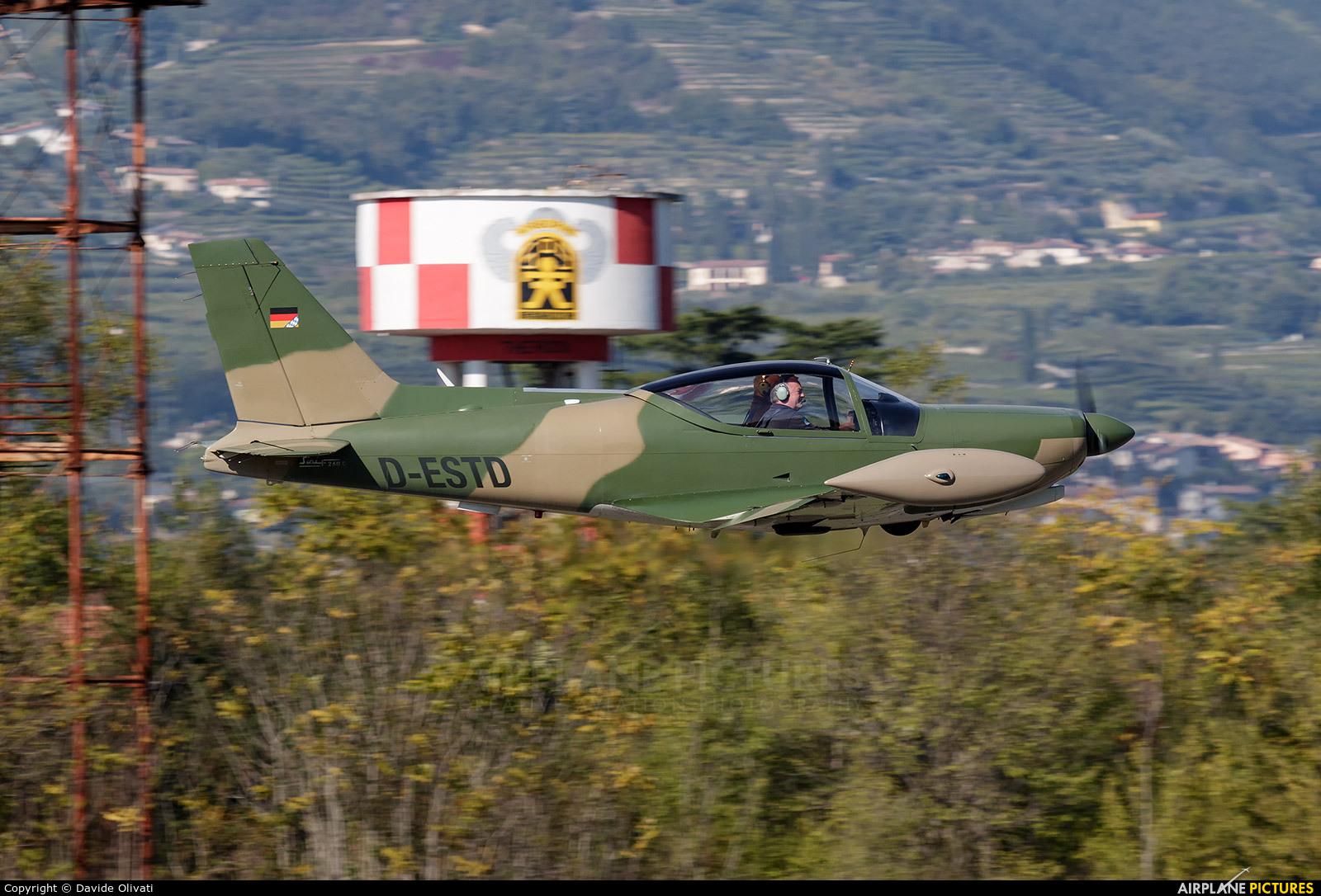 Private D-ESTD aircraft at Verona - Boscomantico