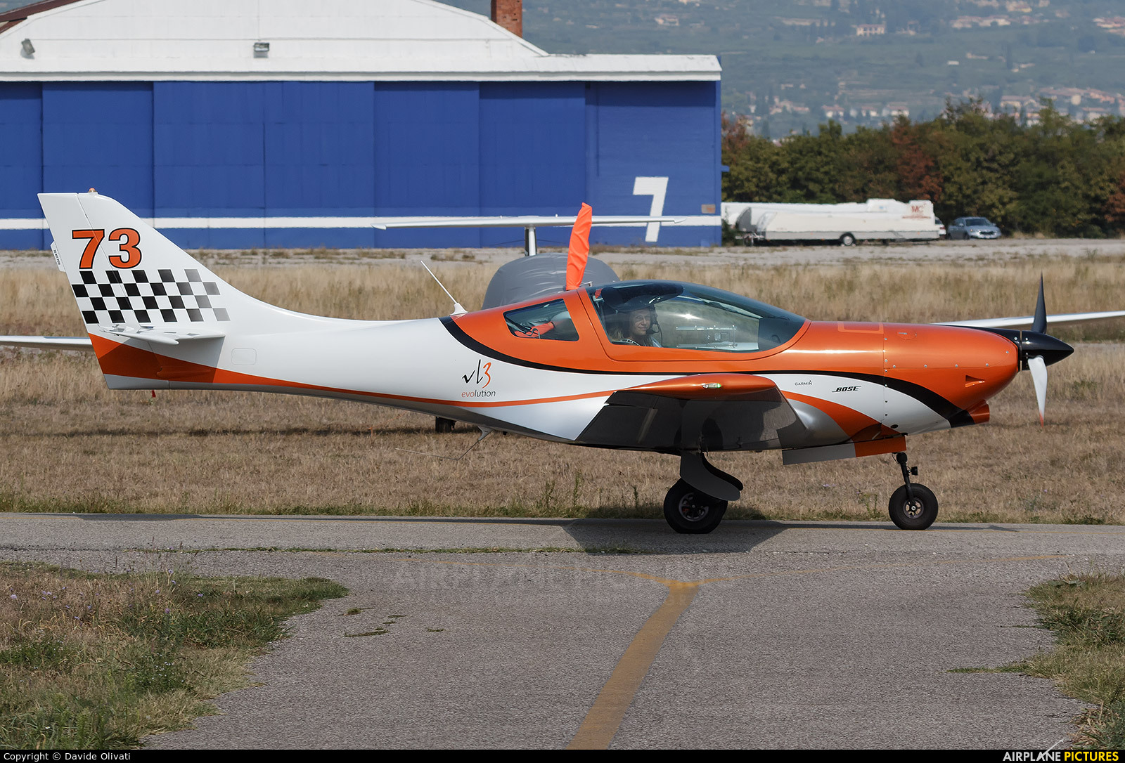Private I-B866 aircraft at Verona - Boscomantico