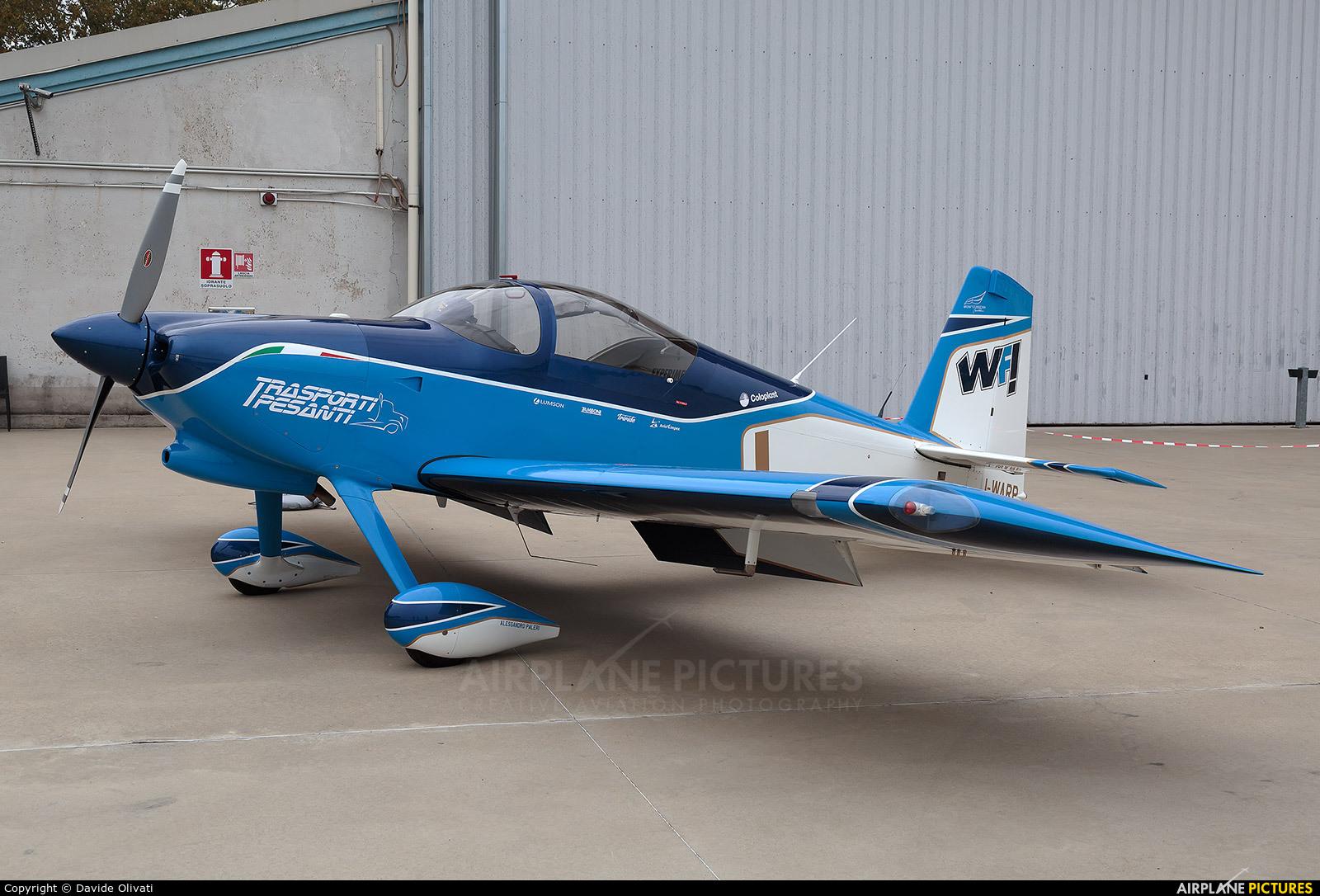 Private I-WARP aircraft at Milan - Bresso