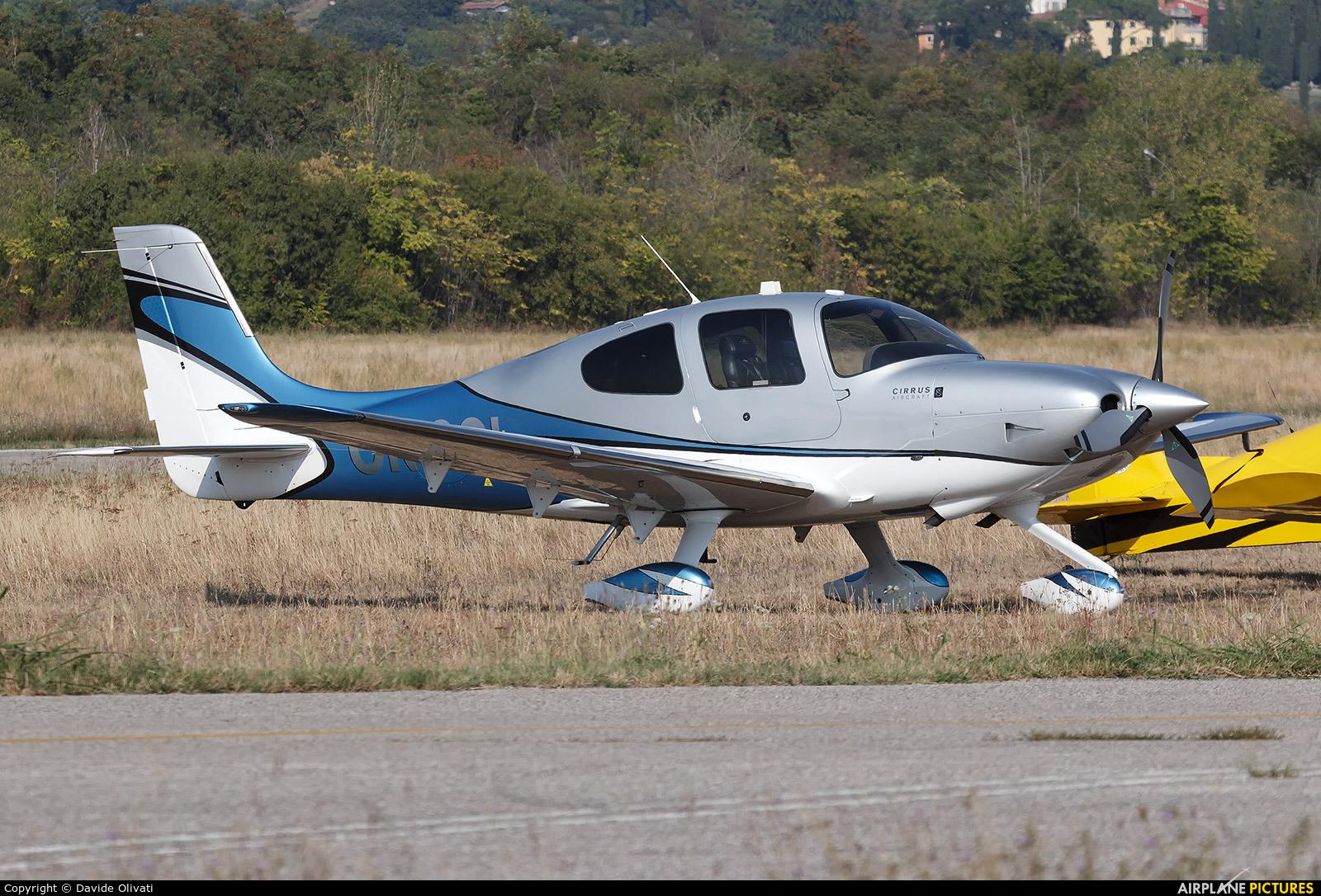 Private OK-SOL aircraft at Verona - Boscomantico