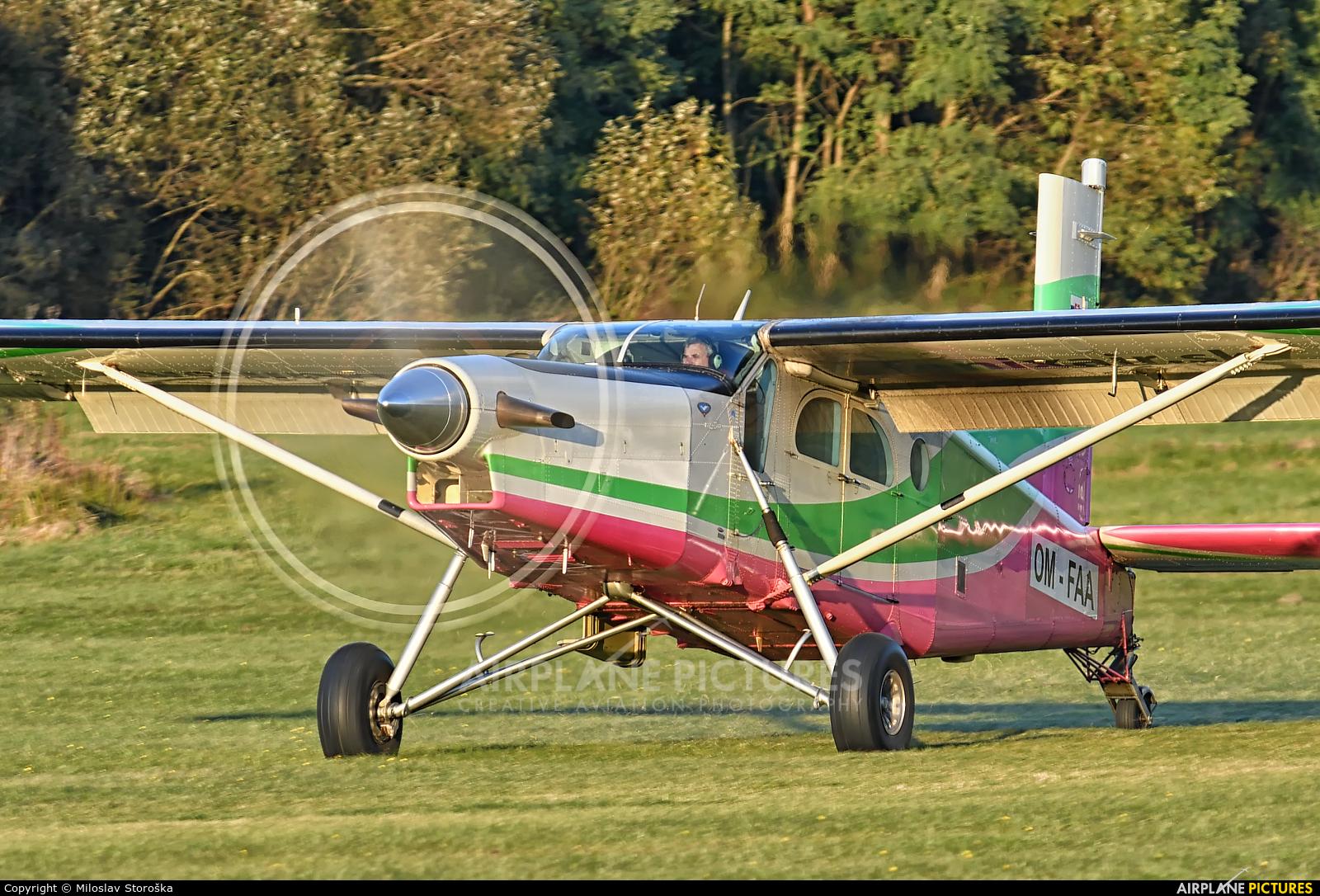 Aeroklub Dubnica nad Vahom OM-FAA aircraft at Očová