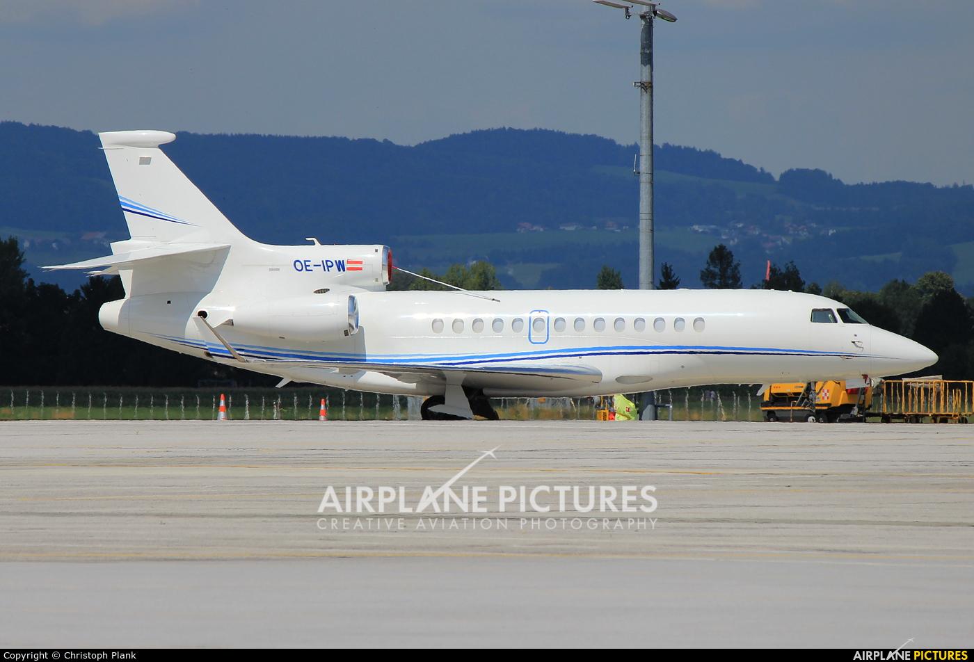 Private OE-IPW aircraft at Salzburg