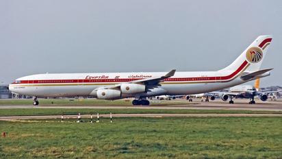 A4O-LE - Egyptair Airbus A340-300