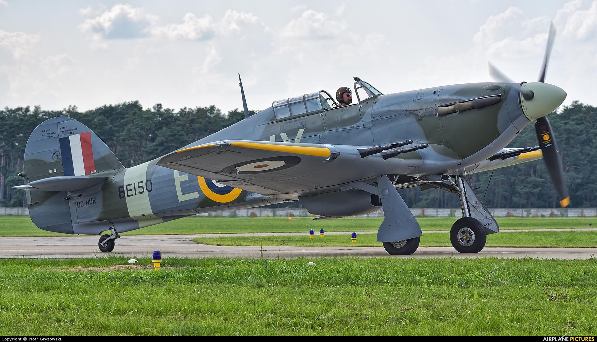 Private OO-HUR aircraft at Malacky - Kuchyna